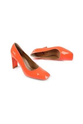 Oblavion Petra Turuncu Topuklu Ayakkabı 3