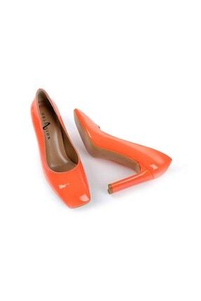 Oblavion Petra Turuncu Topuklu Ayakkabı 4