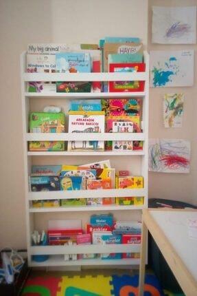 decomira Montessori Çocuk Odası Eğitici Kitaplık 1