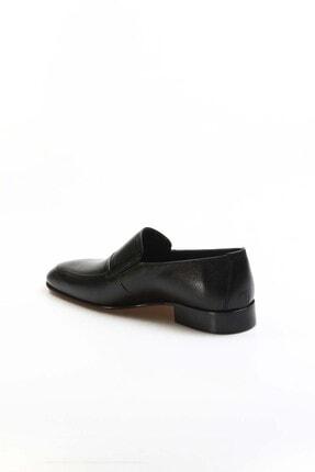 Fast Step Hakiki Deri Siyah Erkek Klasik Ayakkabı 910ma2301 1