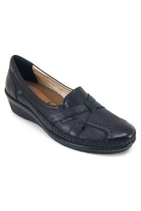 تصویر از 19y 26223 Anatomik Günlük Bayan Ayakkabı-siyah