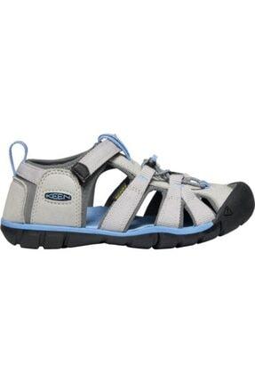 Keen Seacamp Iı Cnx Genç Sandalet Gri/mavi 4