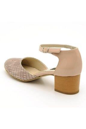 İriadam 9797 Bej Lezar Büyük Numara Bayan Ayakkabıları 3