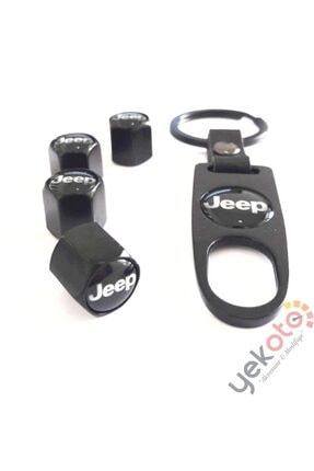 Yekoto Jeep Metal Anahtarlık Ve Sibop Kapak Seti 1.kalite 1