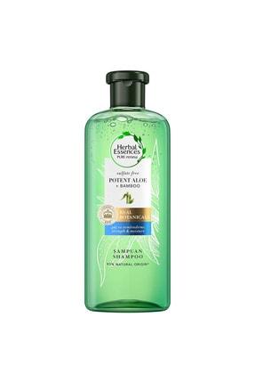 Herbal Essences Sülfatsız Güç Ve Nem Aloe + Bambu Şampuan 380 ml 1