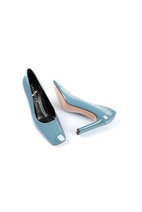 Oblavion Petra Indigo Mavi Topuklu Ayakkabı 4