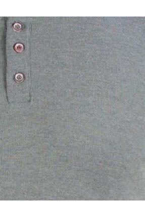 ALEXANDERGARDI Yarim Patli Kaşkorse Kumaş T-shirt, Mint Yeşili (B20-08119) 2
