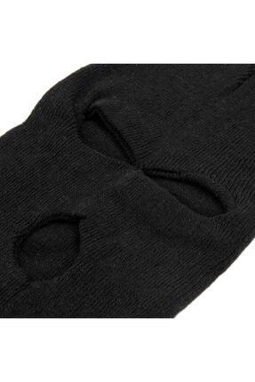 PAKER GİYİM Siyah Kışlık Unisex 3 Gözlü Kar Maskesi 1