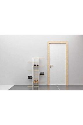 Bayz Tasarım Kapıönü Ayakkabılık Antre Raf Terlik Ayakkabı Dolabı 1