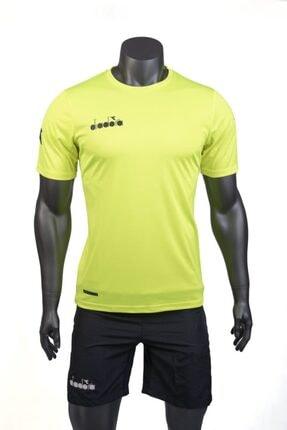 تصویر از Nacce Sıfır Yaka Düz Renk Antrenman T-shirt