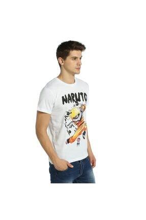 Bant Giyim - Uzumaki Naruto Beyaz Erkek T-shirt Tişört 2