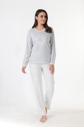 Etoile Ekstra Yumuşak Kumaş Pijama Takımı 98141 2