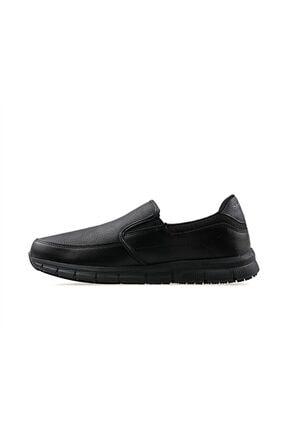 Skechers NAMPA- GROTON Erkek Siyah Günlük Ayakkabı 1