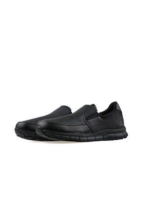Skechers NAMPA- GROTON Erkek Siyah Günlük Ayakkabı 2
