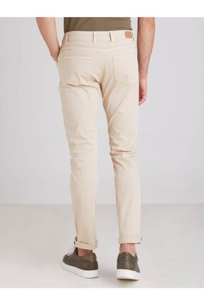Dufy Kemik Pamuk Likra Karışımlı Erkek Pantolon - Slım Fıt 3