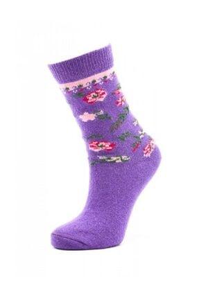 Paktaş Kadın Yünlü Soket Çorabı | Pak2523 0