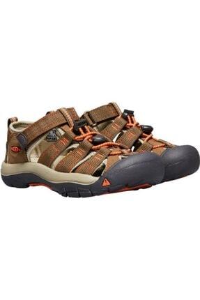 Keen Newport H2 Genç Sandalet Kahverengi/turuncu 2
