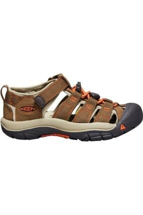 Keen Newport H2 Genç Sandalet Kahverengi/turuncu 4