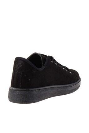 Bambi Siyah Süet Kadın Sneaker K0664320065 3