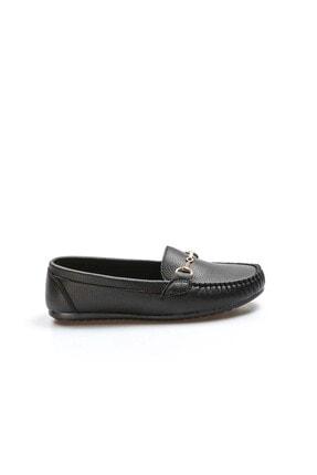 Fast Step Siyah Kadın Babet Ayakkabı 933za102 1