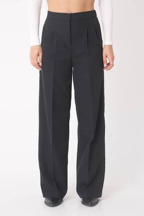 Addax Kadın Siyah Cep Detaylı Bol Pantolon Pn8058 - E8 ADX-0000023058 1