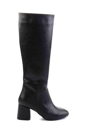 Bambi Siyah Kadın Çizme M0842081509 1