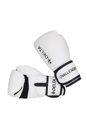 Delta Challenger Dura-strong Beyaz-siyah Boks Eldiveni 0