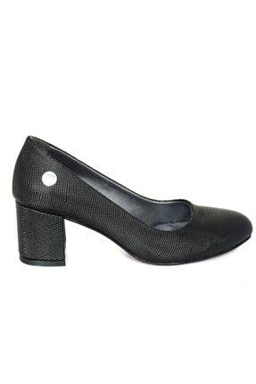 Mammamia 3850 Siyah Nokta Klasik Cilt Ayakkabı 0