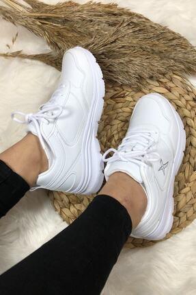 Kinetix Kadın Günlük Spor Beyaz Kadın Yürüyüş Ayakkabısı Suomy 2