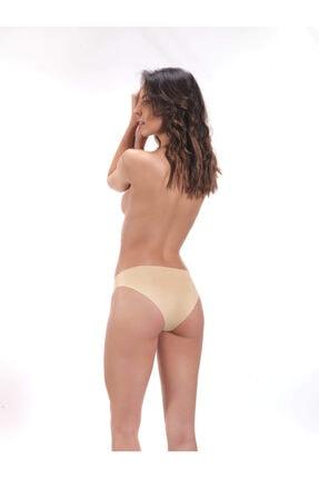 Cottonhill Klasik Basic Lazer Kesim Bikini Külot 3'lü Paket - 3 1