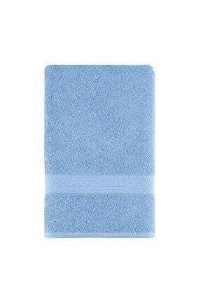 Arya Home Miranda Soft Düz Yüz Havlusu Açık Mavi 0