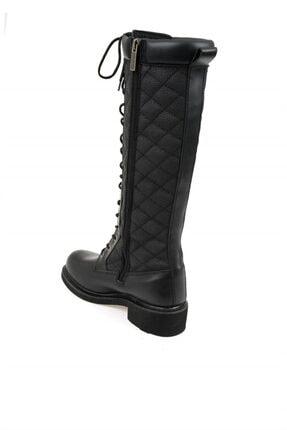 Harley Davidson Rem Black Deri Kadın Çizme 3