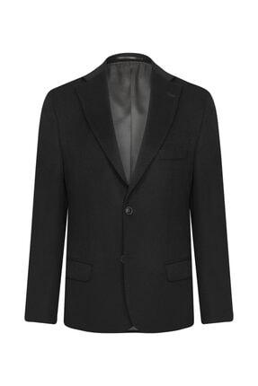 W Collection Siyah Kaşmirli Ceket 1