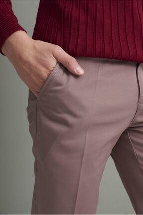 Tena Moda Erkek Koyu Vizon (214) Klasik Rahat Kalıpkumaş Pantolon 2