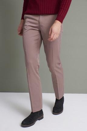 Tena Moda Erkek Koyu Vizon (214) Klasik Rahat Kalıpkumaş Pantolon 3