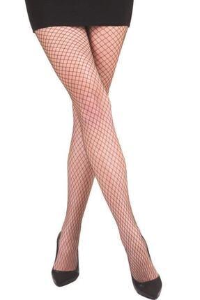 Nbb Kadın Siyah 70 File Külotlu Çorap Ten Rengi 0