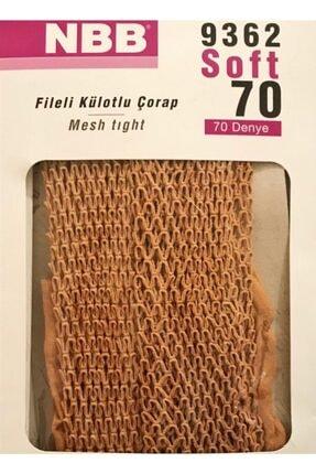 Nbb Kadın Siyah 70 File Külotlu Çorap Ten Rengi 1