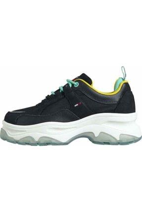 Tommy Hilfiger Kadın Tj Flatform Ayakkabı 1