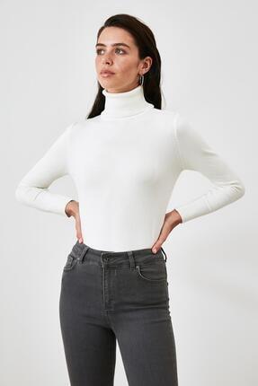 Asfa Moda Kadın Boğazlı Triko Kazak 0
