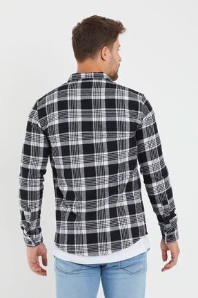 Giyenbilir Erkek Beyaz Oduncu Gömleği 4