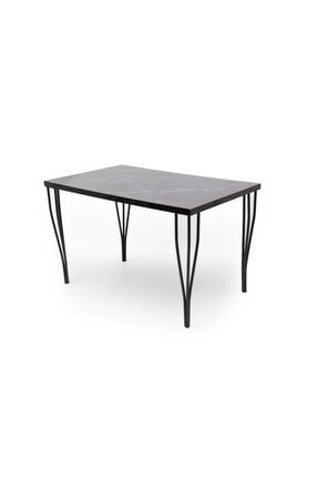 HİRA HOME CONCEPT Masa Tel Sandalye Takımı 4