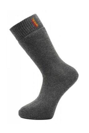 AKDEMİR 4 Lü Thermal Erkek Çorap Thermal Kışlık Çorap 0