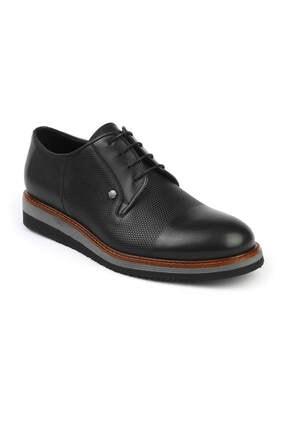 3052 Oxford Erkek Ayakabı Siyah resmi