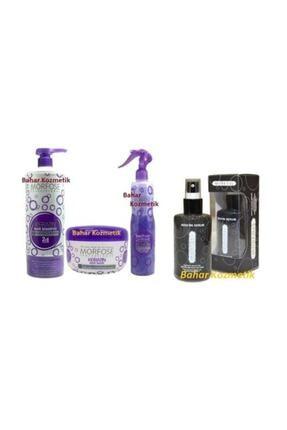 Morfose Keratin Serumu 75m+fön Suyu 400ml+maske 500ml + Şampuan 0