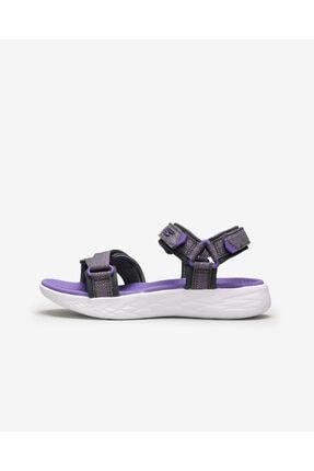Skechers ON-THE-GO 600- LIL RADIANT Büyük Kız Çocuk Gri Sandalet 0
