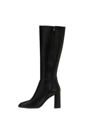 Nine West MARIMBU Siyah Kadın Ökçeli Çizme 100582015 3
