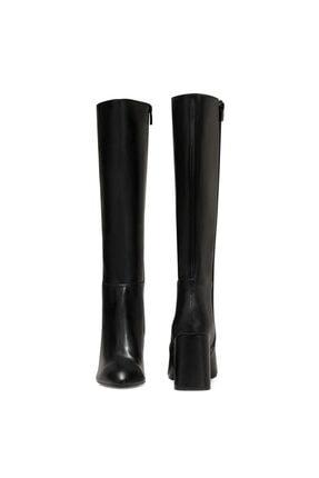 Nine West MARIMBU Siyah Kadın Ökçeli Çizme 100582015 4