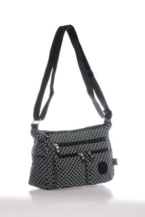 Smart Bags Smb3065-0127 Siyah/beyaz Kadın Çapraz Çanta 1