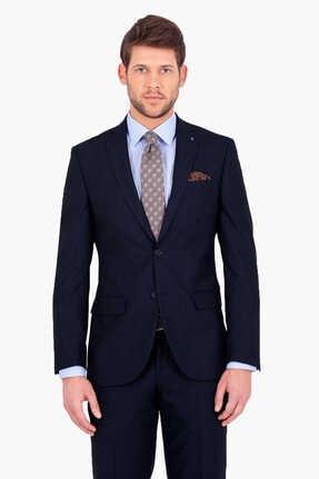 Hatemoğlu Lacivert Slim Fit Takım Elbise 1