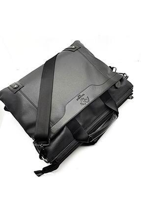 Westpolo Laptop & Evrak Çantası Suni Deri Siyah 4